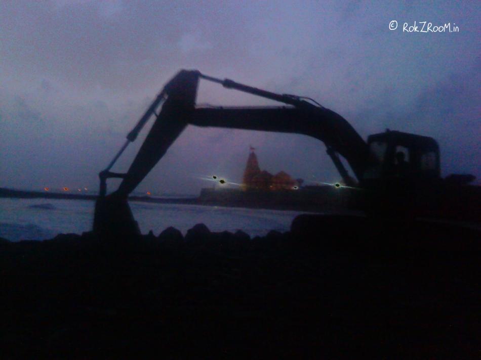 Crane at work - 3
